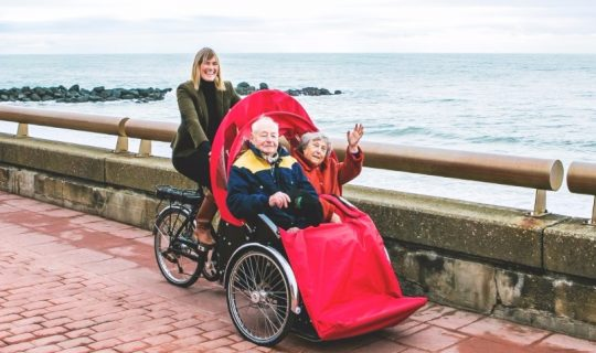 Cycling Without Age with Karen O'Connor