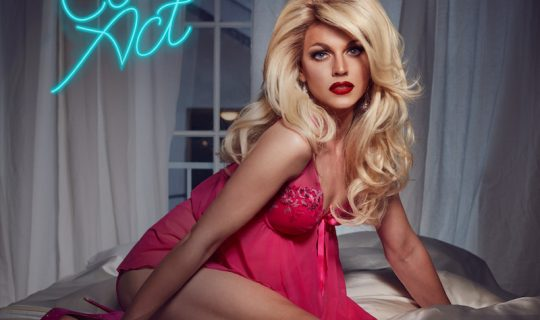 Get Under The Covers With Courtney Act