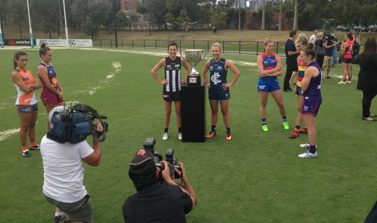 AFLW: First Friday in February