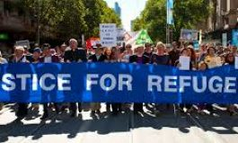 Palm Sunday Walk for Justice for Refugees 2018 Perth