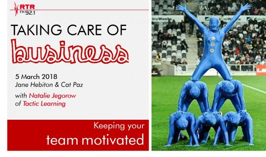 Keeping your team motivated