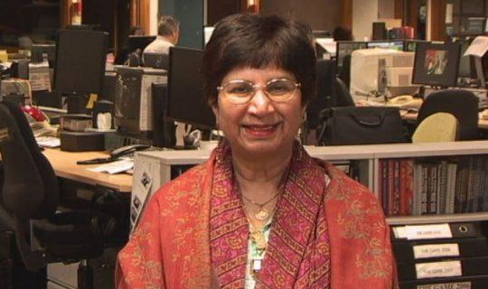 A broader perspective: Professor Samina Yasmeen