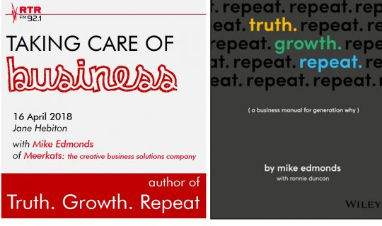 Taking Care of Business: Truth. Growth. Repeat.