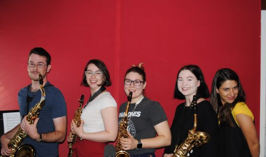Meraki Saxophone Quartet Toot us a Tune