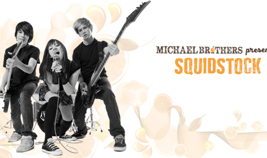 Kids In Bands: Squidstock Band Comp
