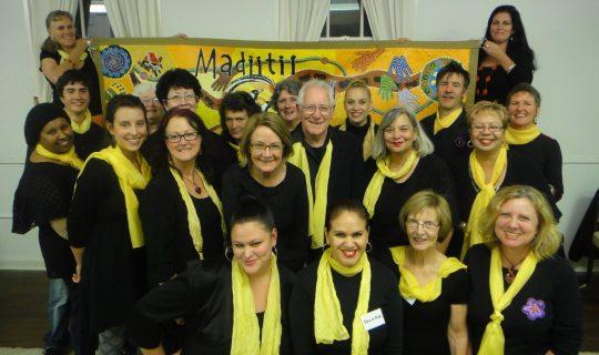 Showing Moorditj With Madjitil Moorna Choir