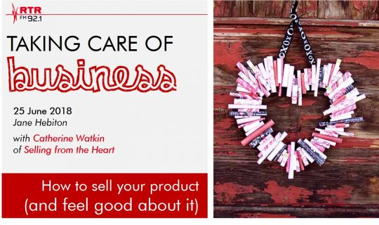 Taking Care of Business: Selling from the Heart