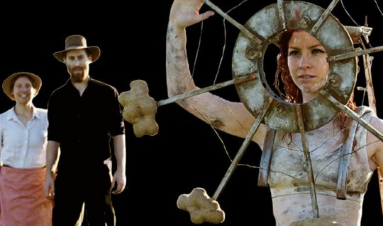 The Farmer's Daughter, a new production
