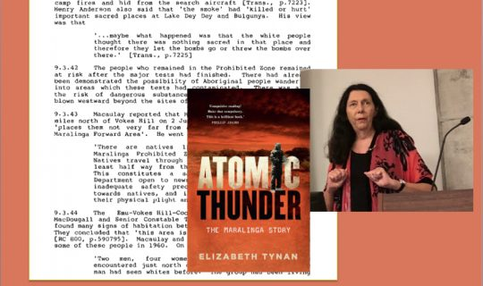 Understorey: Can't you hear the Atomic Thunder? (pt 1)