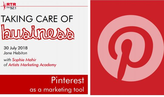 Taking Care of Business: Pinterest for business