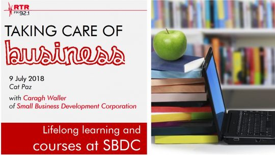 Taking Care of Business: SBDC workshops