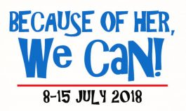 NAIDOC 2018: Because of Her We Can!