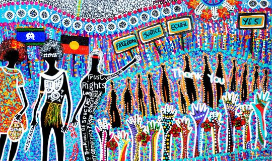 Our Place – Our Time: an art exhibition for NAIDOC week