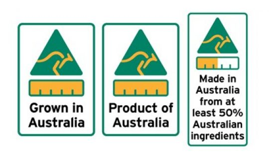 New Country of Origin Labelling Laws