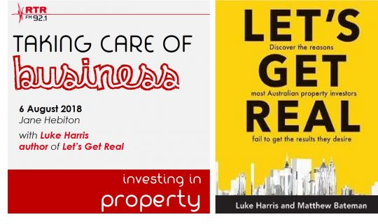 Taking Care of Business: Luke Harris – property investing