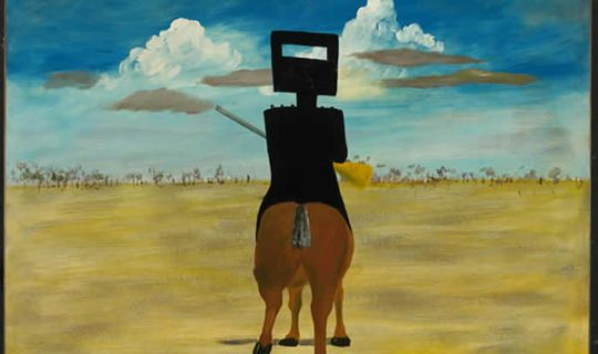 Ned Kelly: a cultural icon depicted