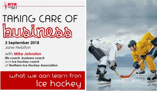 Taking Care of Business: what ice hockey can teach us about business