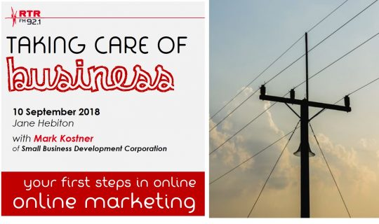 Taking Care of Business: Online Marketing