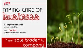 Taking Care of Business: from sole trader to company status with Cat Paz