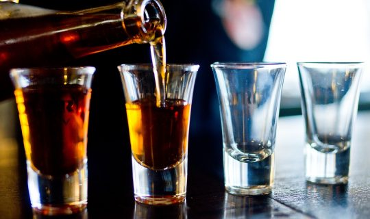 Alcohol Consumption Rates Going Down