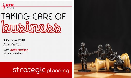Taking Care of Business: strategic planning with Kelly Hudson