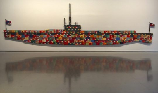WARSHIP art installed for 100th Armistice Day