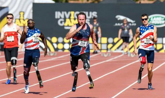 Prosthetics in High-Level Sports