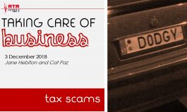 Taking Care of Business: tax scams