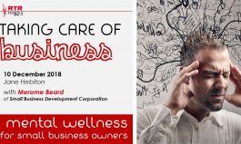 Taking Care of Business: keeping your mental wellness intact
