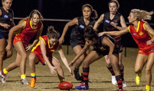 Women's Sports In Full Swing