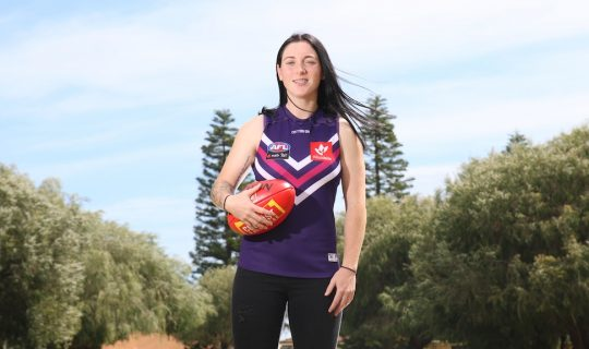 Fremantle Docker Sabreena Duffy on Debut