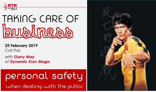 Taking Care of Business: personal safety