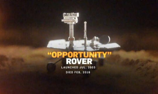 Science with Commander Kat – R.I.P Mars Opportunity Rover