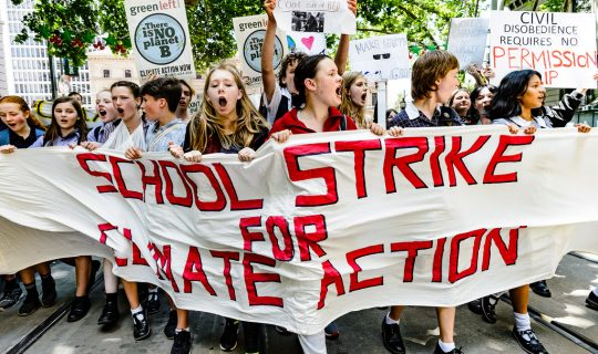 Students Strike Against Global Warming