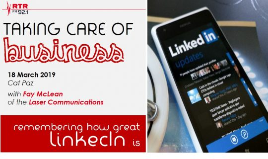 Taking Care of Business: LinkedIn with Fay McLean
