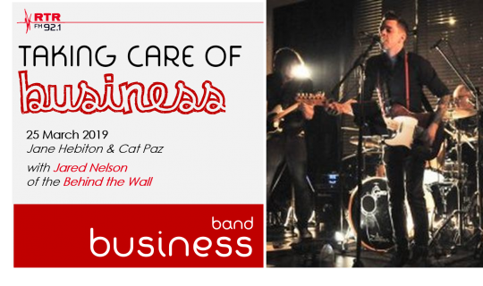 Taking Care of Business: band business