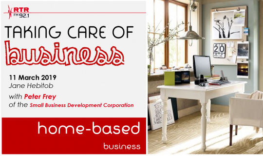 Taking Care of Business: home-based business