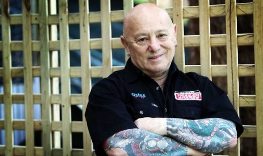 Angry Anderson Burns the Airwaves