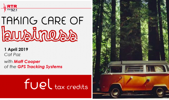 Taking Care of Business: fuel tax credits