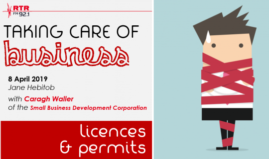 Taking Care of Business: licences and permits