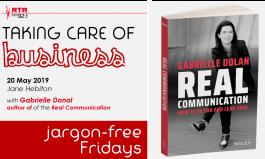 Taking Care of Business: speaking jargon-free