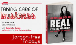 Taking Care of Business: speaking jargon-free