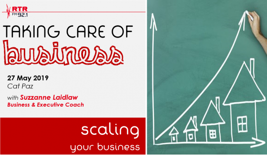 Taking Care of Business: scaling your business