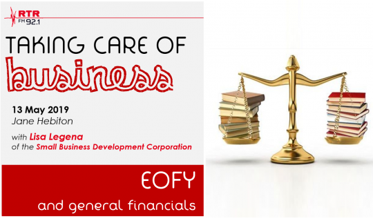 Taking Care of Business: getting ready for EOFY