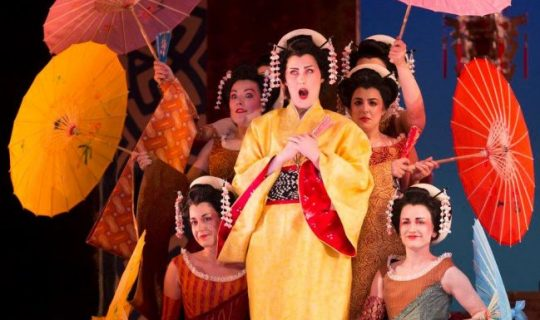 THE MIKADO brought to Perth by Gilbert and Sullivan Society