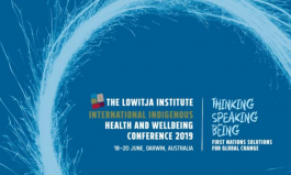 The Lowitja Institute Supporting First Nation People's Solutions Concerning Global Change
