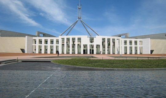 What's Going On In Canberra?