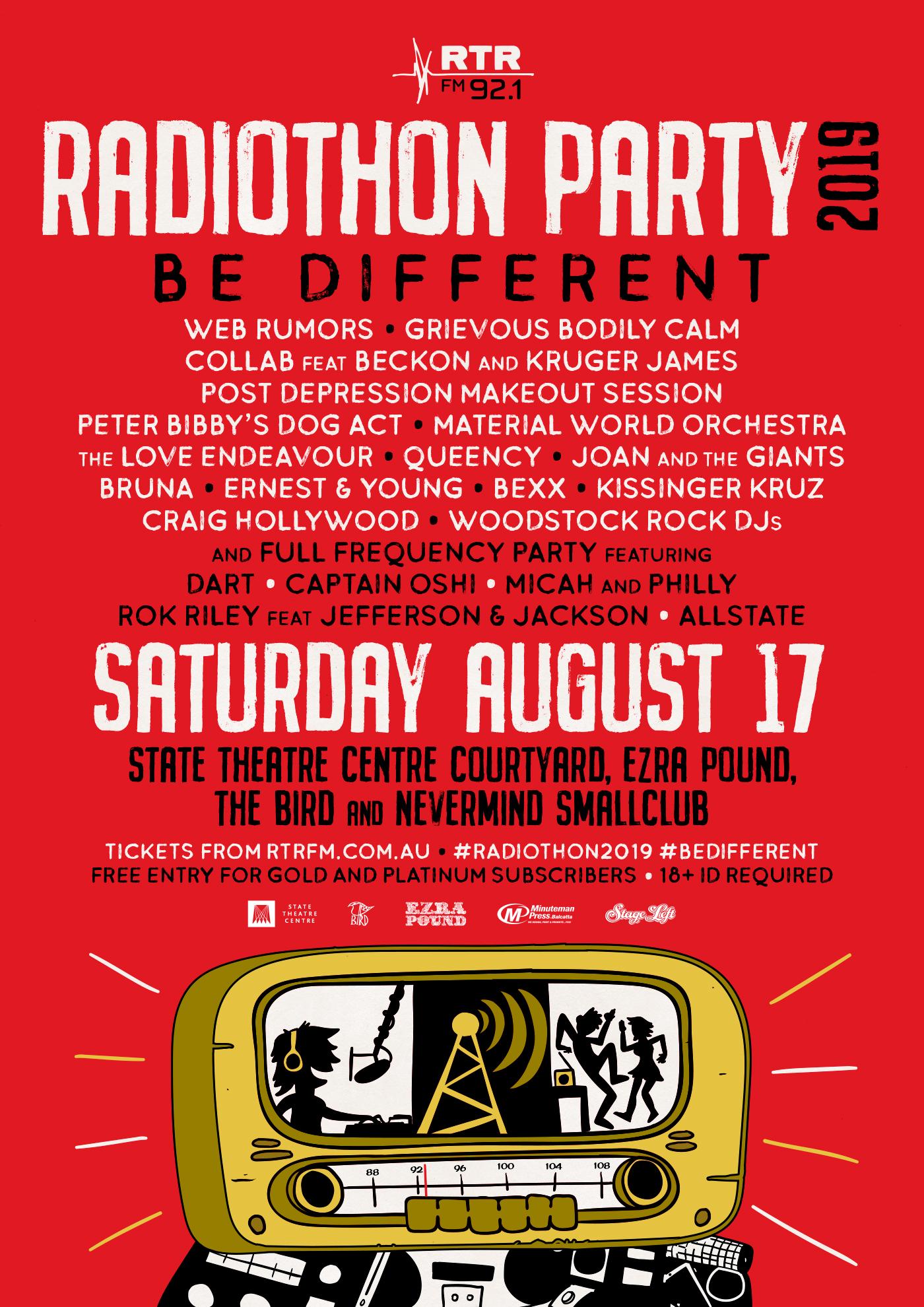 Past Events « RTRFM / The Sound Alternative
