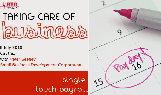 Taking Care of Business: Single Touch Payroll