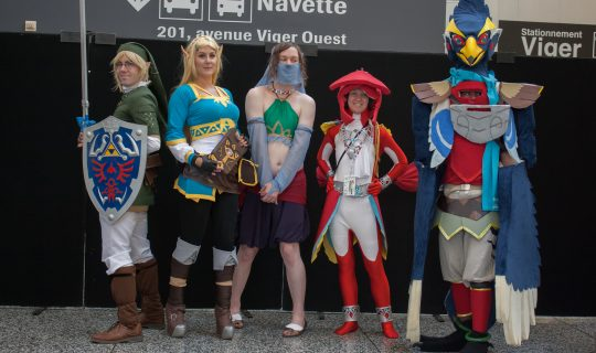 Cowbutt Crunchies and Cosplay
